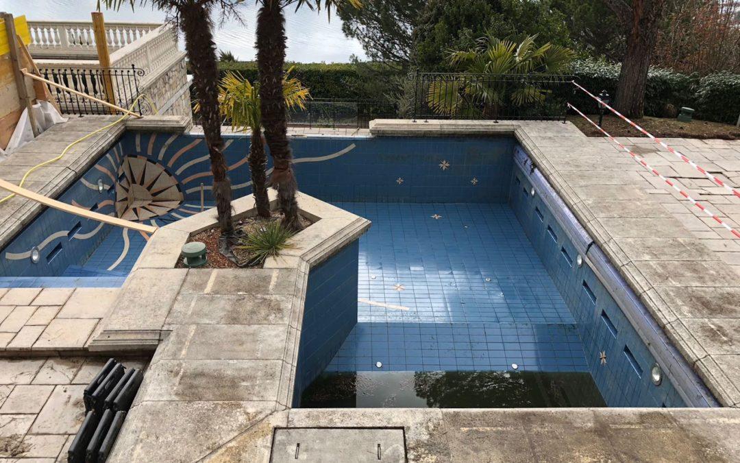 Entretien piscine et dallage en pierre